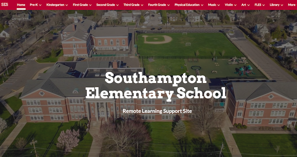 Southampton Elementary School Remote Learning Website