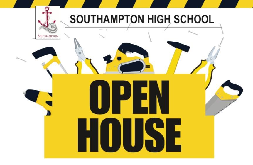 Carpentry Open House Graphic