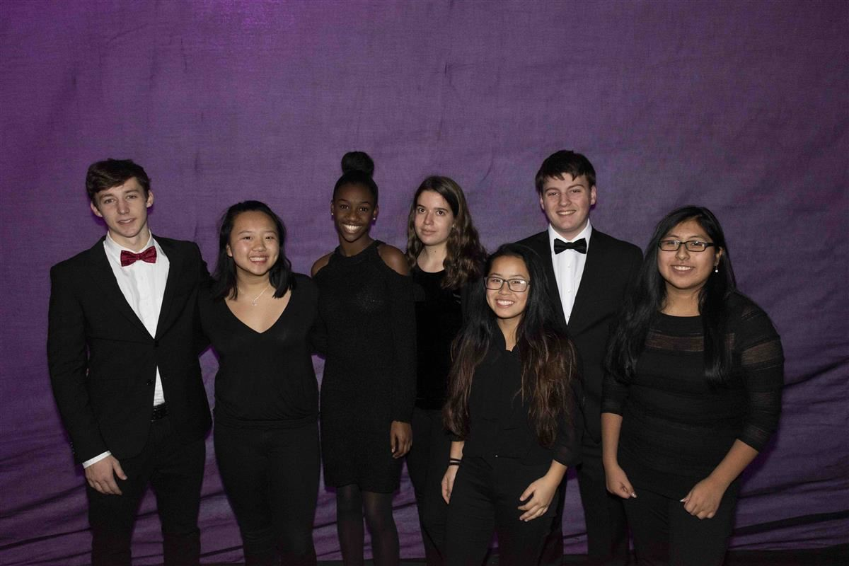 SHS student-musicians recently earned college credit through Suffolk County Community College's Beacon program.