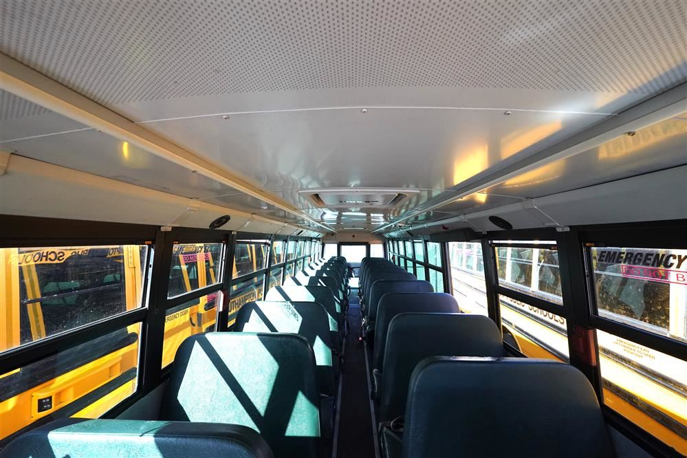 Disinfecting buses sprayers