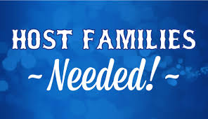 Host Families Needed