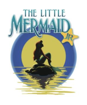 Graphic of the Little Mermaid, Jr.