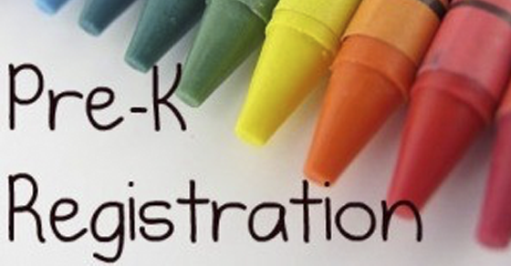 Crayons with Words Pre-K Registration
