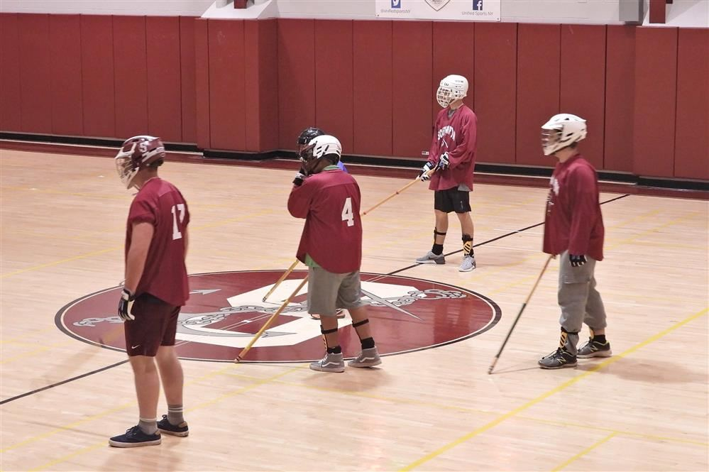 Southampton Mariners Unified Hockey players in the November 8th game at Southampton High School.