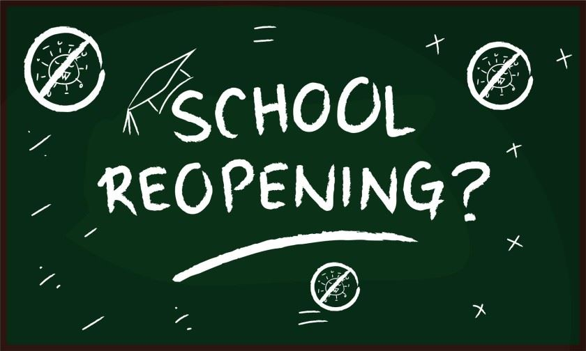 SHS Important Reopening Information