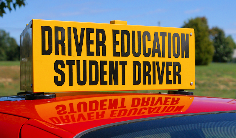 Drivers Education Graphic