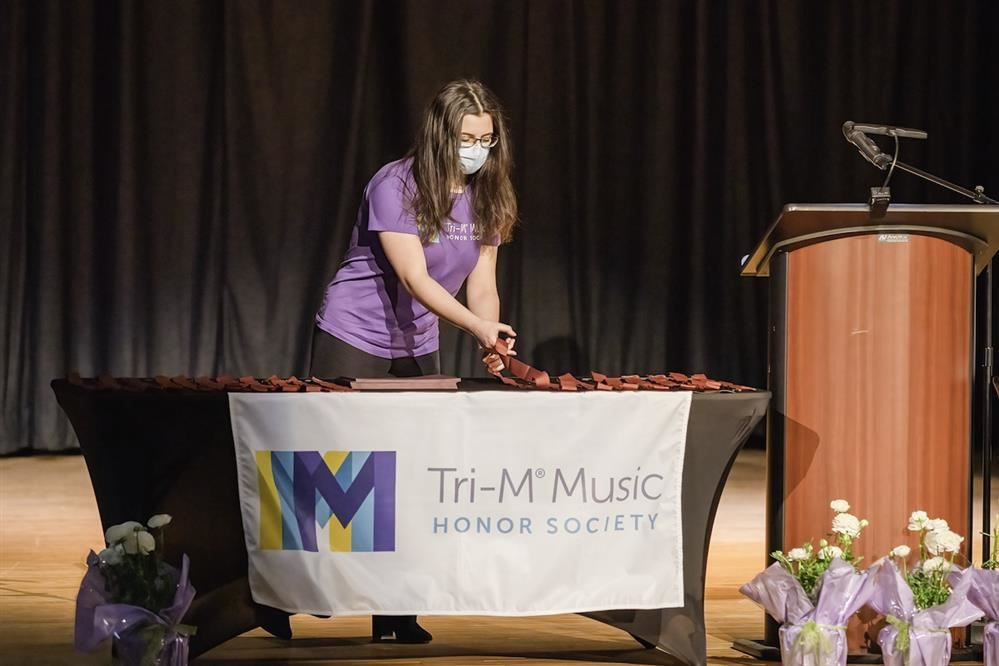 Southampton students inducted into art and music Tri M art festival  honor societies