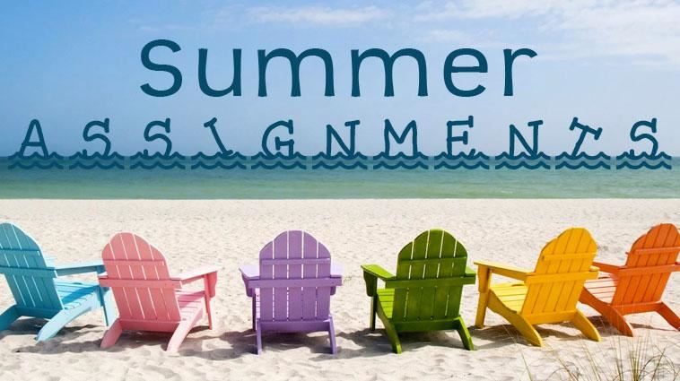 SHS Summer Assignments 2019