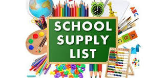 Southampton High School Supply List for 2019-2020