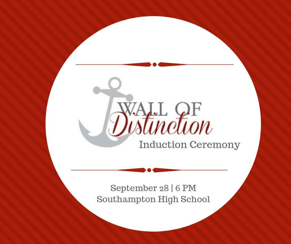 Wall of Distinction Induction Ceremony